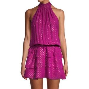RAMY BROOK Christina Halter Mini Dress NWT